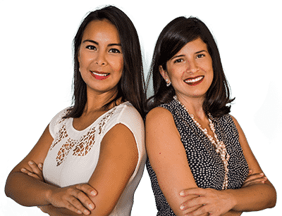 Alejandra Zelaya and Jessie Ustariz of ZeUs Roatan Real Estate