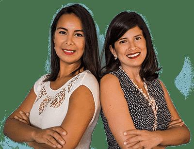 Alejandra Zelaya and Jessie Ustariz of ZeUs Roatan Real Estate