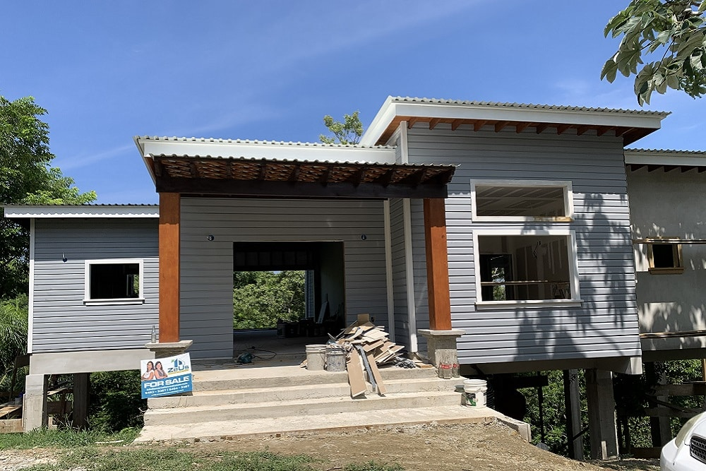 Gray Moon Residence, New Construction, Brass Hill, Roatan